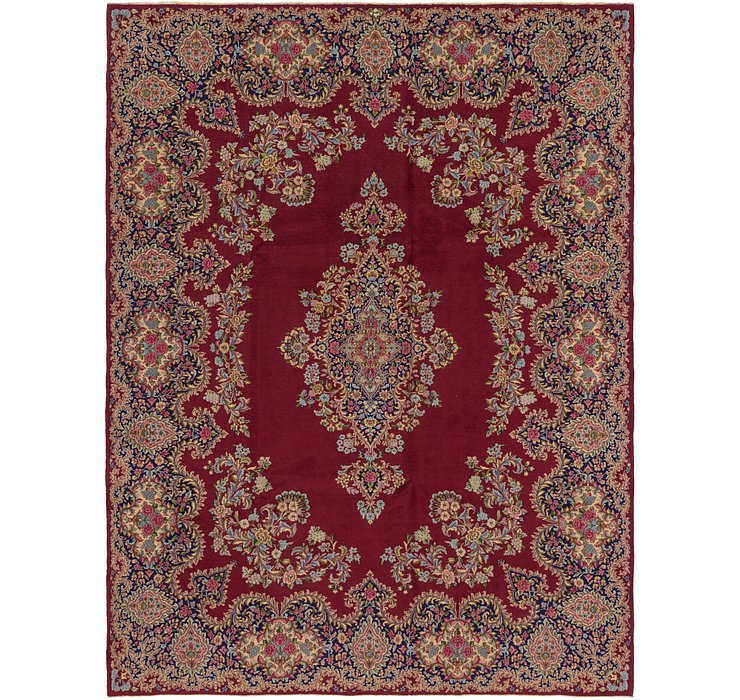 9' 9 x 13' 2 Kerman Persian Rug