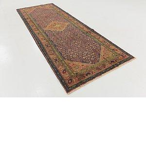 Unique Loom 4' x 10' Hossainabad Persian Run...