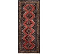 Link to 3' 8 x 9' 9 Chenar Persian Runner Rug
