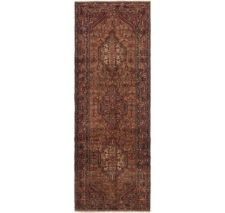 3' 7 x 10' 3 Darjazin Persian Runner...