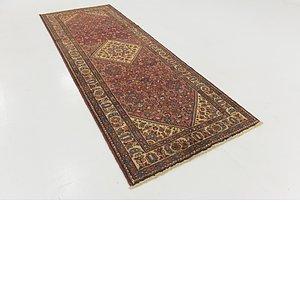 Unique Loom 3' 8 x 10' Hossainabad Persian Run...