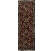 Link to 3' 5 x 10' 3 Chenar Persian Runner Rug