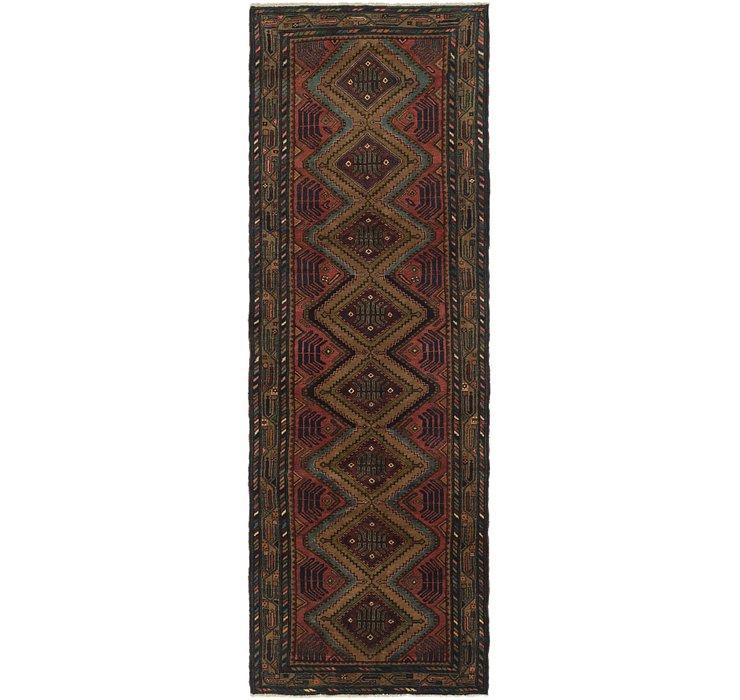105cm x 312cm Chenar Persian Runner Rug