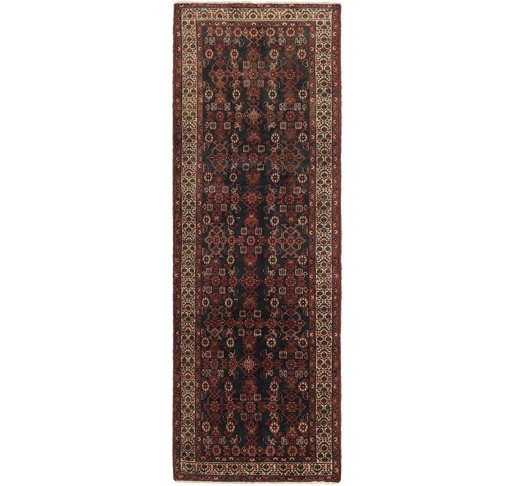 3' 7 x 10' 9 Shahsavand Persian Runn...