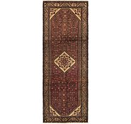 Link to 117cm x 323cm Hossainabad Persian Runner Rug