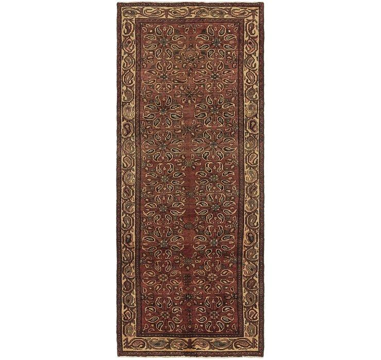 3' 9 x 9' 8 Shahsavand Persian Runn...
