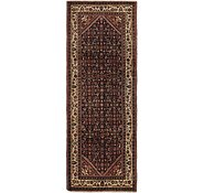 Link to 115cm x 323cm Hossainabad Persian Runner Rug