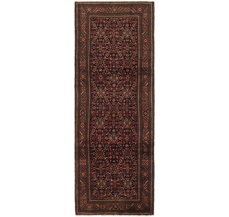 3' 9 x 10' 10 Shahsavand Persian Runn...