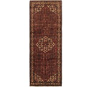 Link to 110cm x 318cm Hossainabad Persian Runner Rug