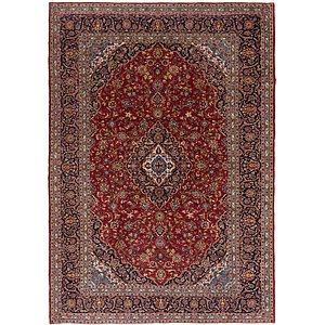 9 X 13 Kashan Persian Rug