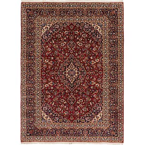 Link to 9' 7 x 12' 10 Kashan Persian Rug page