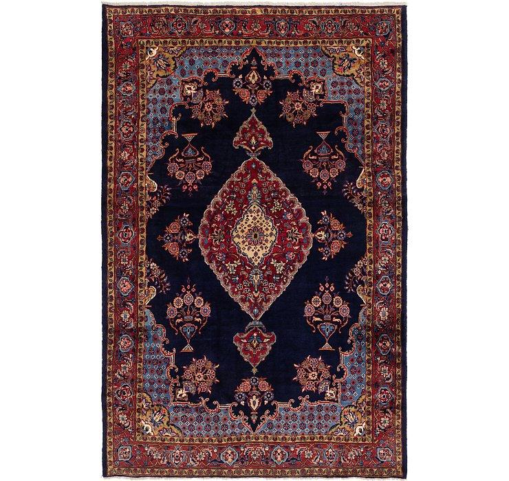 8' x 12' 4 Mahal Persian Rug