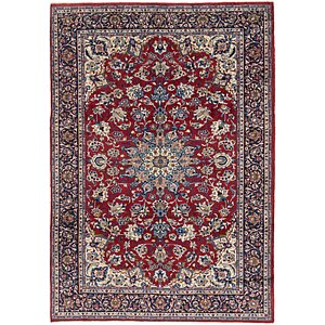 Link to 262cm x 360cm Isfahan Persian Rug page