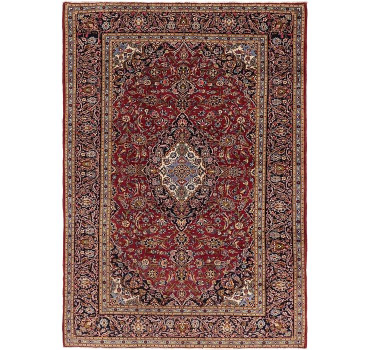 262cm x 373cm Kashan Persian Rug