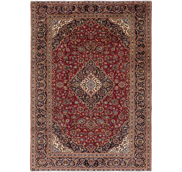 9' 3 x 13' Kashan Persian Rug