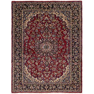 8' 6 x 10' 10 Isfahan Persian Rug