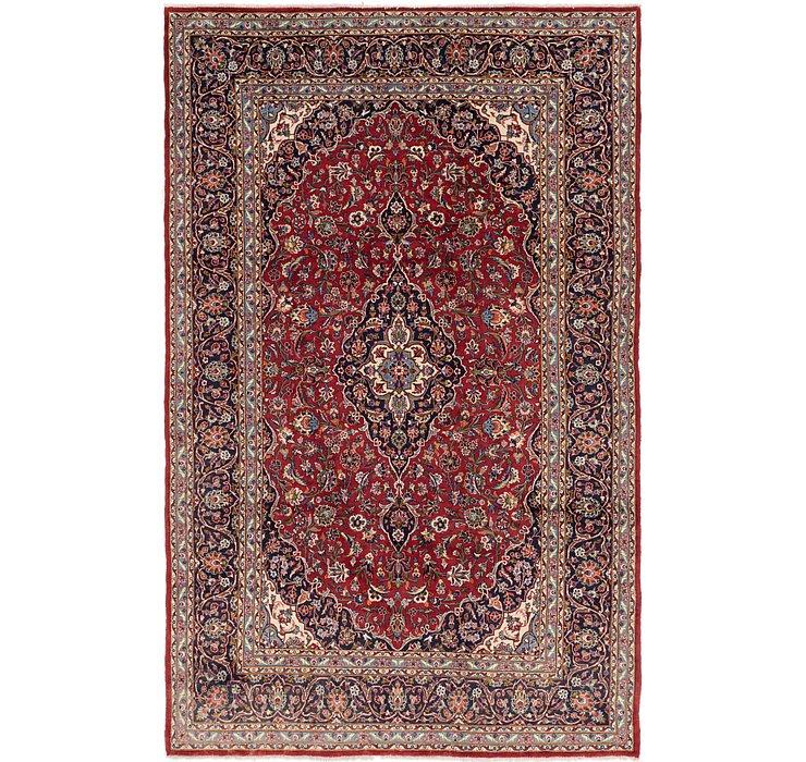 8' x 12' 8 Kashan Persian Rug