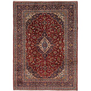 Link to 8' 3 x 11' 6 Kashan Persian Rug page