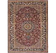 Link to 270cm x 355cm Isfahan Persian Rug