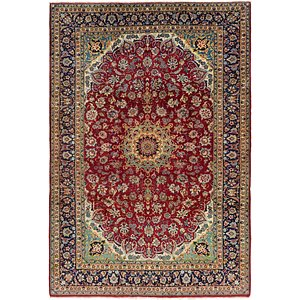 8' 7 x 12' 5 Isfahan Persian Rug