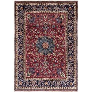 9' x 12' 10 Isfahan Persian Rug