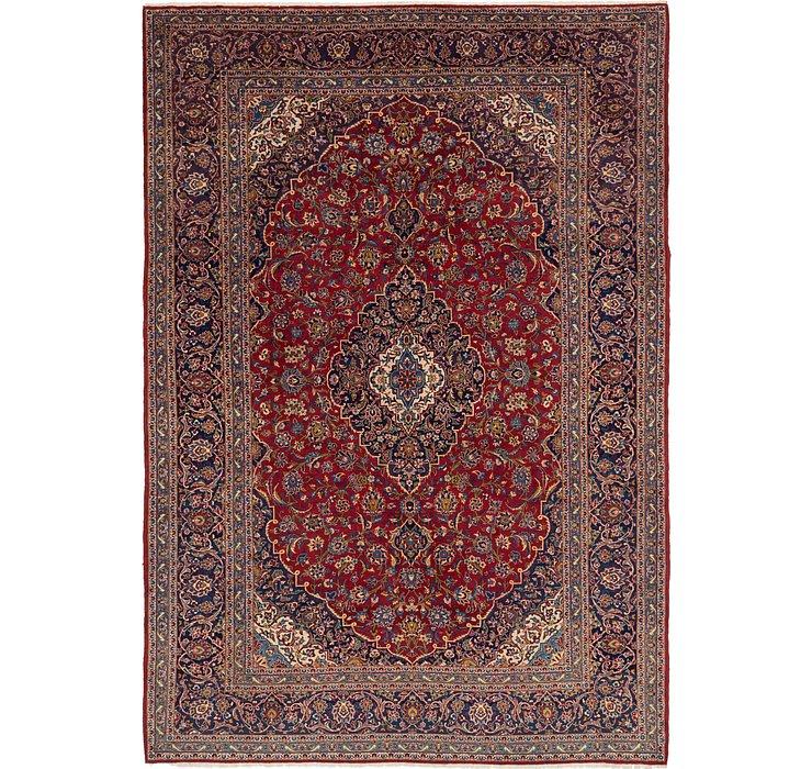 9' 2 x 13' 7 Kashan Persian Rug
