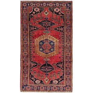 6' x 10' 6 Viss Persian Rug