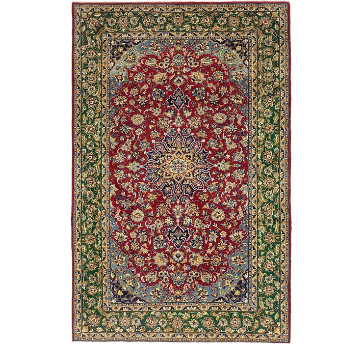 6' 9 x 10' 7 Isfahan Persian Rug