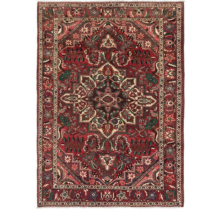 7' x 9' 10 Bakhtiari Persian Rug
