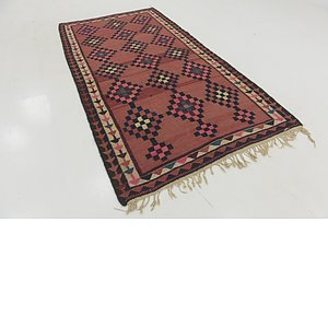 Link to 5' 2 x 9' 9 Kilim Fars Runner Rug item page