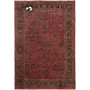 10' 6 x 15' 4 Sarough Persian Rug