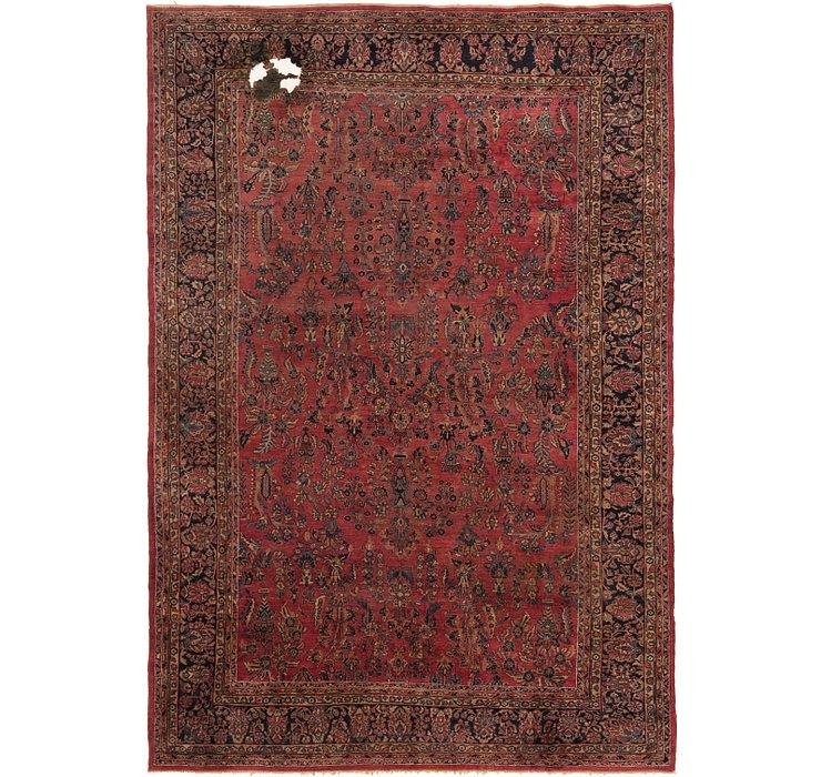 10' 6 x 15' 4 Sarough Persian Rug