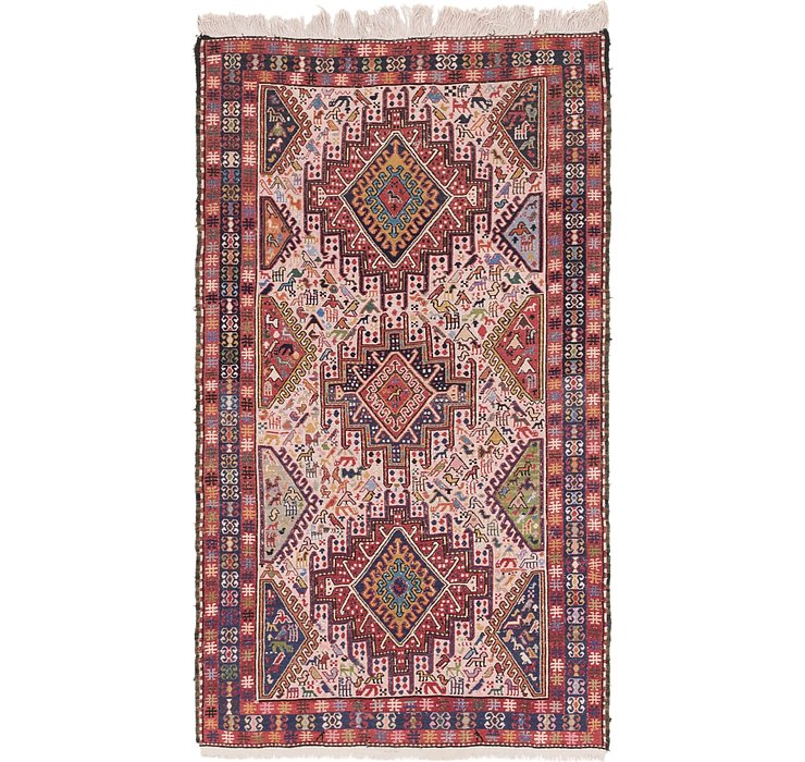 3' 10 x 6' 5 Sirjan Persian Rug