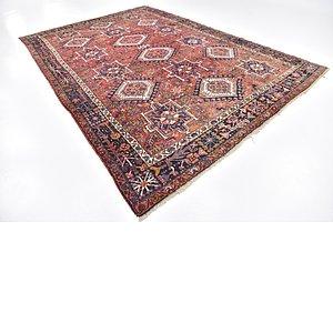 8' 5 x 12' 2 Gharajeh Persian Rug