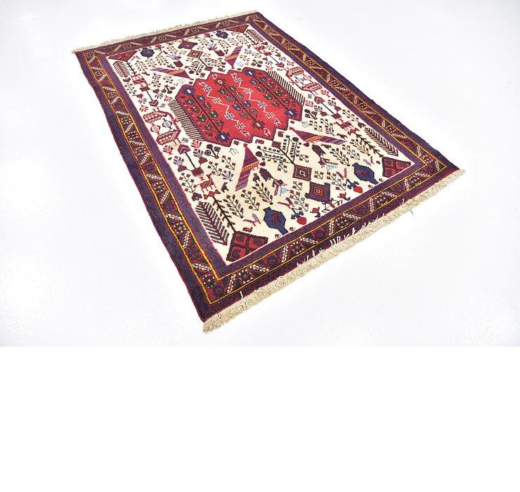 4' 9 x 6' 8 Sirjan Persian Rug