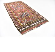 Link to 4' x 7' 7 Shiraz-Lori Persian Rug