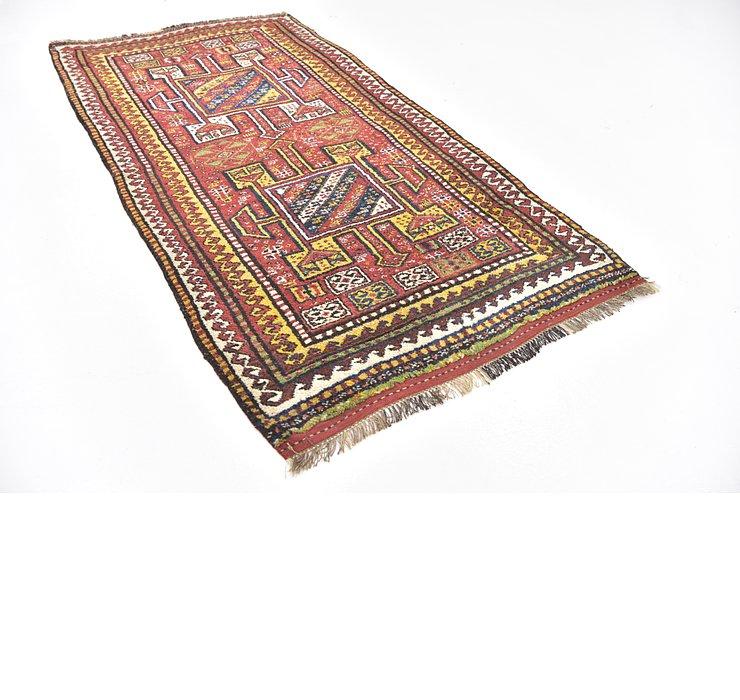 4' x 7' 7 Shiraz-Lori Persian Rug