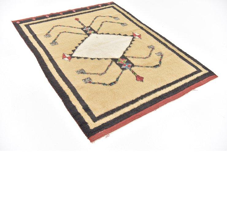 4' 3 x 5' 7 Moroccan Rug