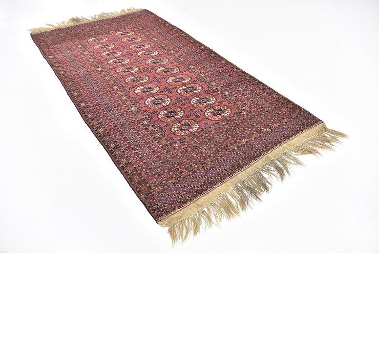 4' x 7' 8 Bokhara Oriental Rug