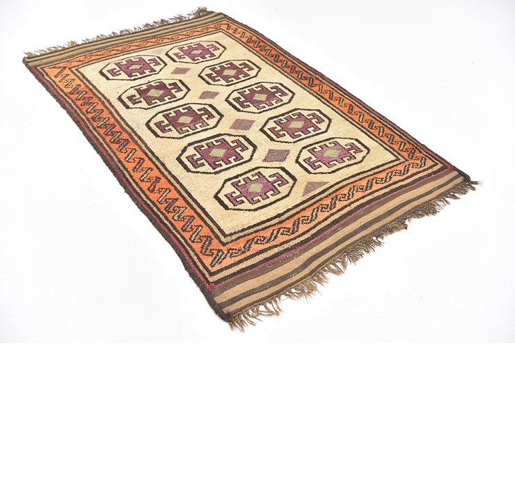 4' 2 x 6' 4 Shiraz Persian Rug