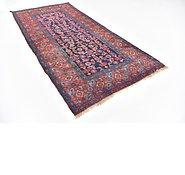 Link to 4' 3 x 9' Zanjan Persian Runner Rug