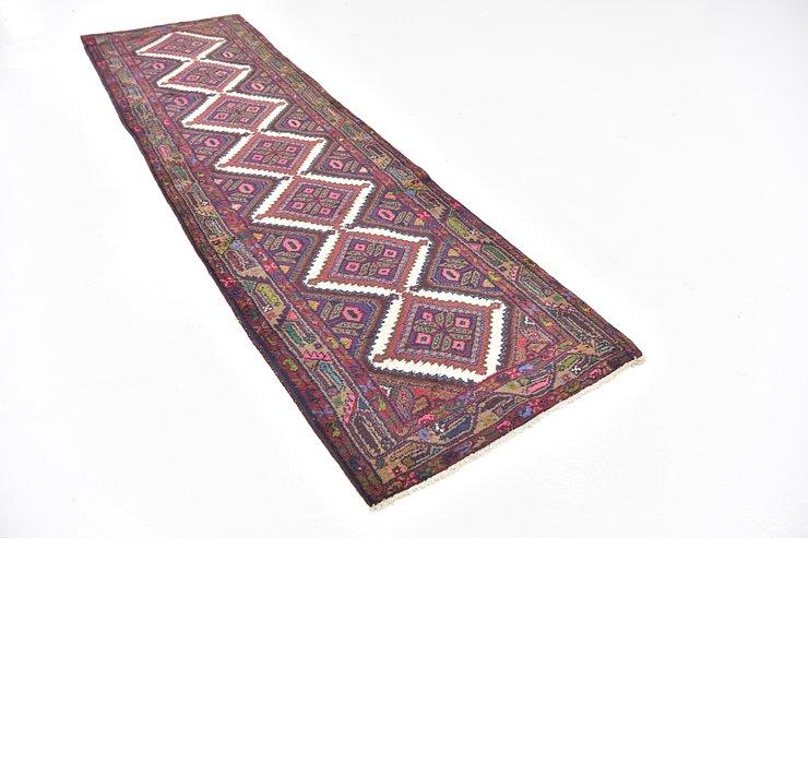 2' 9 x 9' 9 Chenar Persian Runner Rug