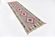 Link to 2' 7 x 9' 6 Kilim Fars Runner Rug