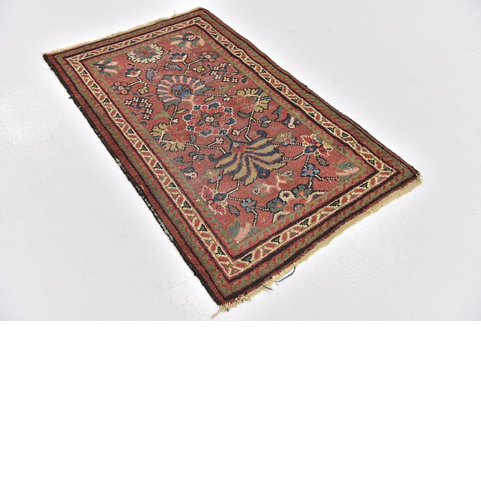 2' 9 x 4' 4 Meshkabad Persian Rug