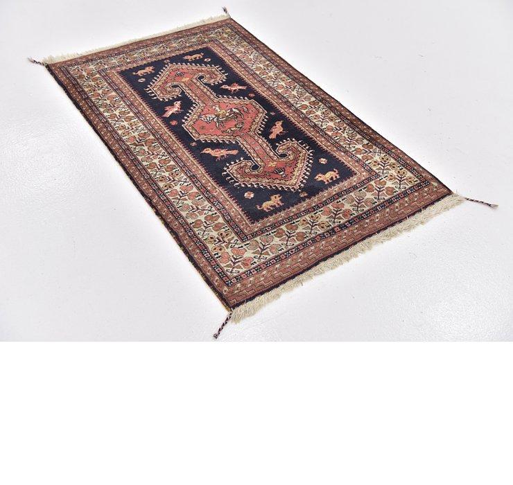 2' 9 x 4' 4 Bidjar Persian Rug