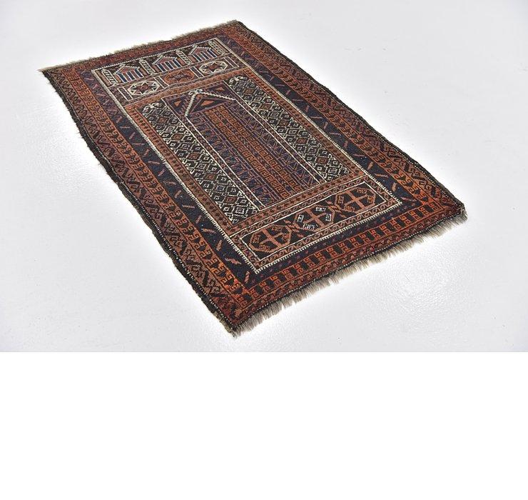 3' 4 x 5' Shiraz Persian Rug
