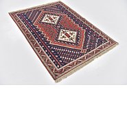 Link to 3' 9 x 5' Yalameh Persian Rug