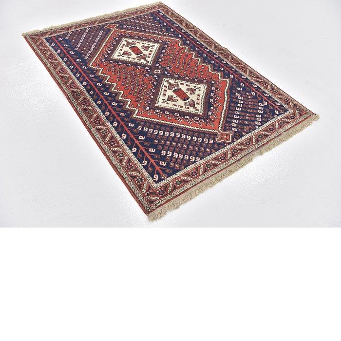 3' 9 x 5' Yalameh Persian Rug