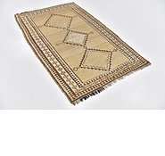 Link to 3' 5 x 5' 3 Shiraz-Gabbeh Persian Rug