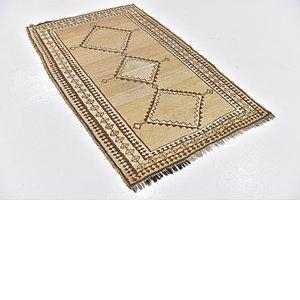 3' 5 x 5' 3 Shiraz-Gabbeh Persian Rug